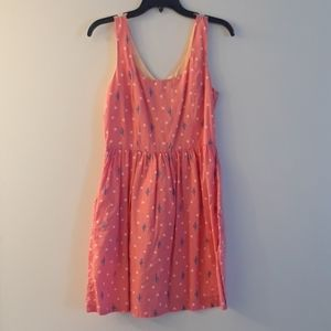 Levis cute pink cactus dress size small